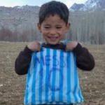 'Taliban, poşet formalı Messi'nin peşinde'