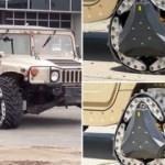 Askeri araçlar için tasarlandı! Palete dönüşüyor