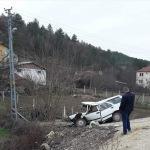 Kastamonu'da otomobil devrildi: 4 yaralı