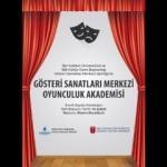 Oyunculuk Akademisi için son başvuru 14 Şubat