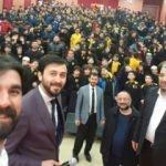 Serdar Tuncer öğrencilerle biraraya geldi