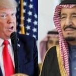 Trump'tan küçük düşürücü Suudi Arabistan çıkışı!