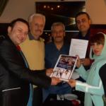 Türk sinemasında bir ilk: Engin Çağlar ve Onur Akay...