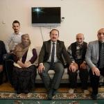 Bayburt Valisi Pehlivan'ın hastaları ziyaret etti