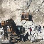 Muğla'da maden sahasında heyelan