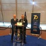 """Edremit'e ikinci kez """"12 Yıldız Şehri"""" ödülü verildi"""