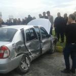 Aydın'da iki otomobil çarpıştı: 5 yaralı