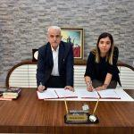 """Karaman'da """"bilinçli tüketim"""" protokolü imza töreni"""