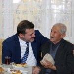 Kaymakam Cıdıroğlu'ndan ev ziyaretleri