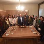 Başkan Arslan öğrencilerle bir araya geldi