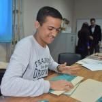 Engelli öğrenciler anaokulları için galoş üretiyor