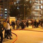 Mahalle ayağa kalktı! Antalya'da panik anları