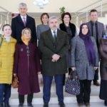 Öğrenci anneleri Aksaray Üniversitesi'nde kampüsü gezdi