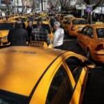 Taksicilerden Mansur Yavaş'a tepki
