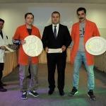 Hükümlü ve tutukluların çini eserleri yarıştı