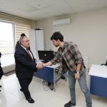 Vali Nayir'den AA Sakarya Bölge Müdürlüğüne ziyaret