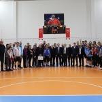 CÜ'de voleybol turnuvası sona erdi