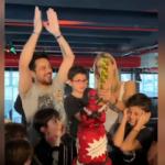 Çağla Şıkel ve Emre Altuğ oğullarının doğum günü kutladı!