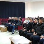 """CÜ'de """"Temel İş Sağlığı ve Güvenliği"""" semineri"""