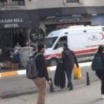 Taksim'de skandal! Ambulansa geçit vermediler