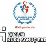 İŞKUR kura sonuç ekranı! Gençlik ve Spor Bakanlığı il il listeler...