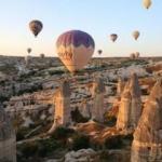 Kapadokya'yı bir ayda 128 bin 955 turist ziyaret etti
