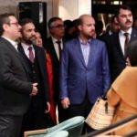 Başakşehir Millet Kıraathanesi Bilal Erdoğan'ın katılımıyla açıldı