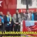 CHP'li aday Hüseyin Sarı, Fatiha suresiyle dalga geçti!