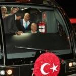 Cumhurbaşkanı Erdoğan, yeni yapılan tramvay hattını açtı