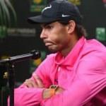 Dev maç oynanamadı! Nadal çekildi...