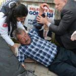 Dilenciye para vermeyince bıçaklandı