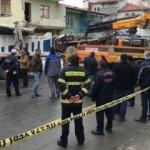 Freni patlayan kamyon binaya daldı! Ölü ve yaralılar var