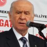 MHP lideri Bahçeli: Atatürk kalksa CHP'lileri denize döker
