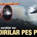 Saldırılar peş peşe! Rus jetleri harekete geçti, ölü ve yaralılar var