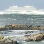 İlk görüntüler! 1300 kişiyi taşıyan yolcu gemisi kırmızı alarm verdi