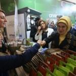 Emine Erdoğan Gaziantep'te Atıkmatik kullandı
