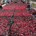 AK Parti - MHP Ankara ortak mitinginden fotoğraflar