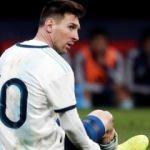 Arjantin'de Lionel Messi şoku!