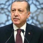 Erdoğan, altın madalya alan sporcuları kutladı