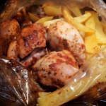 Fırın poşetinde tavuk nasıl yapılır?