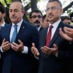 Fuat Oktay ve Bakan Çavuşoğlu El Nur Camisi'ni ziyaret etti