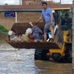 İran'da felaket! Şehir sular altında!