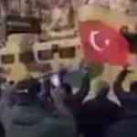 Mehmetçik, İdlib'in güneyinde böyle karşılandı