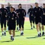 Milli Takım Moldova maçına Arnavutluk'ta çalıştı
