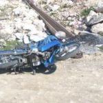 Motosikletinin yanında ölü halde bulundu
