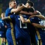 Süper Lig yıldızları Bosna Hersek'e 3 puanı getirdi