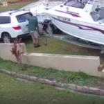 Teknesinin lastiklerine ahşap sıkıştırmayı unutunca...