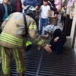 İstanbul'da anne, dehşeti yaşadı! İtfaiye seferber oldu
