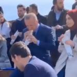 Erdoğan yayından sonra gençlerle dürüm yemiş!