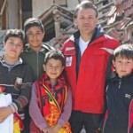 Göztepe'den Acıpayam'a anlamlı ziyaret